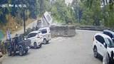 Clip: Khoảnh khắc tai nạn ô tô trên đèo Bảo Lộc khiến 4 người thương vong