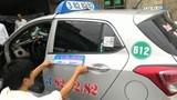 Taxi phải niêm yết bảng giá cước 2 bên cửa xe từ 25/3