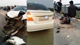 Tai nạn giao thông mới nhất hôm nay 26/2: Ô tô chạy trốn chốt thổi nồng độ cồn, đâm bay học sinh xuống sông