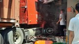 Tai nạn giao thông mới nhất hôm nay 5/3: Xe đầu kéo tông sập nhà dân, một người chết