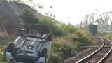 Khoảnh khắc vụ tai nạn đường sắt 3 người thương vong ở Quảng Ngãi