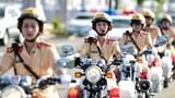 Bông hồng vàng của cảnh sát giao thông Hà Nội