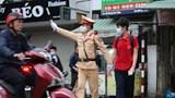 Hưởng ứng mô hình Cổng trường học an toàn giao thông tại quận Ba Đình