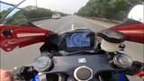 [Video] Hà Nội: Xe phân khối lớn chạy gần 300 km/h trên Đại lộ Thăng Long