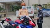 Tài xế phóng mô tô gần 300km/h trên Đại lộ Thăng Long khai nhận vì muốn thử chất lượng xe