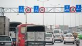 Cầu Thanh Trì trong ngày đầu giảm tốc độ tối đa