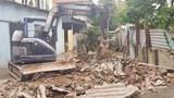 Huyện Đông Anh cưỡng chế giải phóng mặt bằng phục vụ xây đường giao thông tại xã Kim Nỗ