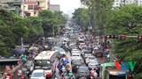 Tình trạng giao thông lộn xộn, gây ùn tắc nghiêm trọng đoạn qua bệnh viện K Tân Triều