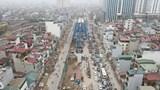 Tuyến cầu Vĩnh Tuy - Ngã Tư Vọng sắp hoàn thiện, thông xe