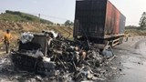 Tai nạn giao thông mới nhất hôm nay 20/3: 2 xe bốc cháy sau tai nạn trên quốc lộ 19, 1 người tử vong