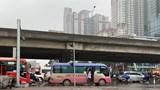 Hà Nội: Xử lý nghiêm xe dừng, đón trả khách quanh bến xe Mỹ Đình