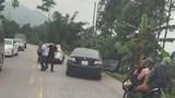 Quảng Ninh: Điều tra nhóm đối tượng tạt đầu xe và hành hung người đi đường