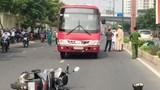 Xe buýt cán chết người ở TP Hồ Chí Minh