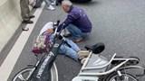 Cụ ông đi xe đạp tử vong thương tâm khi va chạm với xe máy