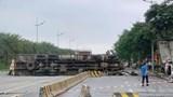 Tai nạn giao thông mới nhất hôm nay 4/5: Tai nạn liên hoàn gần sân bay Nội Bài, 1 người tử vong