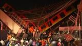 Ít nhất 24 người thiệt mạng trong vụ sập đường sắt trên cao tại Mexico