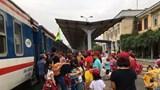 Từ 5/5 đến 23/5, thay đổi giờ tàu khách từ ga Hải Phòng đi Hà Nội từng ngày
