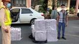 Phát hiện ô tô chở gần 5 ngàn gói thuốc lá ngoại nhập lậu