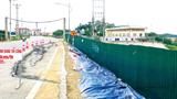 Sớm khắc phục sự cố nứt đê sông Hồng