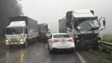Tai nạn giao thông mới nhất hôm nay 4/6: 9 ô tô tông liên hoàn, Quốc lộ 6 ùn tắc