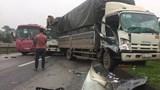Thái Nguyên: Tai nạn liên hoàn 3 xe tải và xe chở công nhân, QL3 ùn tắc