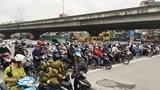 [Ảnh] Hà Nội: Đường phố đông đúc trong ngày đầu tuần