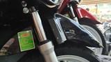 300 mẫu mô tô, xe gắn máy đã thực hiện dán công khai mức tiêu thụ nhiên liệu