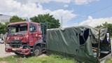 Bình Dương: Danh tính nạn nhân tử vong vụ xe đầu kéo tông văng xe biển đỏ