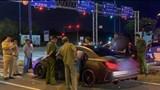 TP Hồ Chí Minh: Thanh niên đi xe sang tông vào ô tô chở lãnh đạo Công an TP