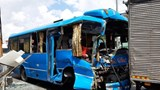 TP Hồ Chí Minh: Xe khách đâm liên hoàn, 30 người kêu cứu thảm thiết