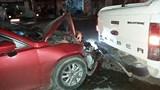 Tiền Giang: Xe 4 chỗ gây tai nạn liên hoàn, tài xế có dấu hiệu say xỉn