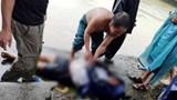 Hà Tĩnh: Trượt xe xuống cống, công an viên bị nước lũ cuốn trôi