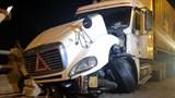 Thông tin mới nhất vụ xe container mất lái đâm nhiều người trên cầu Thanh Trì
