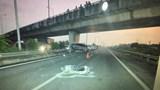 Uống rượu say chạy môtô vào cao tốc gây tai nạn liên hoàn