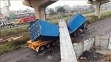 Vụ xe container đâm sập cầu bộ hành: Chiều cao cầu không đạt như thiết kế
