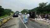 Va chạm liên hoàn trên cao tốc Nội Bài – Lào Cai, giao thông tê liệt nhiều giờ