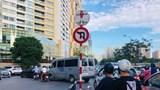 Công an Cầu Giấy phản hồi vụ người dân vô tư vi phạm tại nút giao Hoàng Ngân - Hoàng Minh Giám