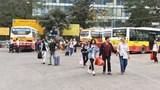 Hà Nội: Bến xe thưa vắng, giao thông ổn định ngày cuối kỳ nghỉ Tết Nguyên đán 2019