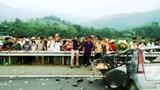 Tai nạn kinh hoàng trên đường Hòa Lạc - Hòa Bình, 1 người tử vong