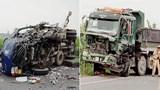 Ô tô chở gà đâm xe ben, 1 tài xế tử vong