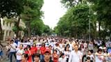 """Hà Nội: Hơn 5.000 người xuống đường kêu gọi """"Đã uống rượu bia - Không lái xe"""""""