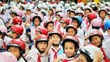TP.HCM: Tặng hơn 140.000 mũ bảo hiểm cho các em bước vào lớp 1