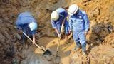 Hà Nội khắc phục xong sự cố vỡ đường ống nước ở ngã 6 Ô Chợ Dừa