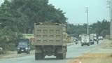 """Xe ben chở đất quá tải """"tung hoành"""" trên các tuyến đường tại huyện Ba Vì"""