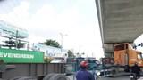 """TP Hồ Chí Minh: Tai nạn giao thông """"rình rập"""" xung quanh khu vực cảng container Trường Thọ"""
