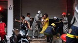 Hà Nội: Cháy nhà 5 tầng tại ngõ Núi Trúc