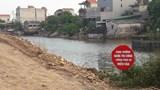 Huyện Phú Xuyên: Hàng chục mét kè đê bất ngờ đổ sập do sơ xuất của đơn vị thi công?
