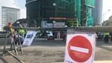 Thi công ga ngầm S9: Rào thử khu vực ngã tư Kim Mã – Núi Trúc