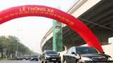 Thông xe đường Vành đai 3 dưới thấp, đoạn Mai Dịch - cầu Thăng Long