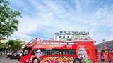Xe khách du lịch 2 tầng City Tour bổ sung các phố Nhà Chung - Nhà Thờ - Hàng Trống